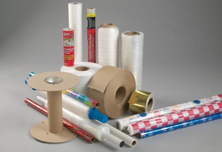 Custom Cardboard Cores Paper Fabric Film Wrap