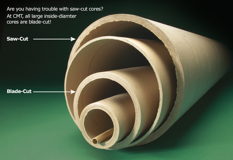 Large diameter cores in aurora il chicago mailing tube co