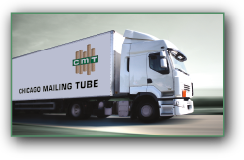 Chicago Mailing Tube semi transporting tubes and cores