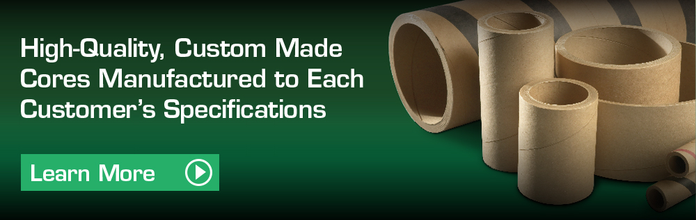 Spirally-wound paper tubes, cores, small and large diameters, light wall thickness and heavy-duty wall thickness, lengths up to 350